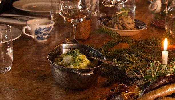 Piparjuurikurkut sopivat myös joulupöytään.
