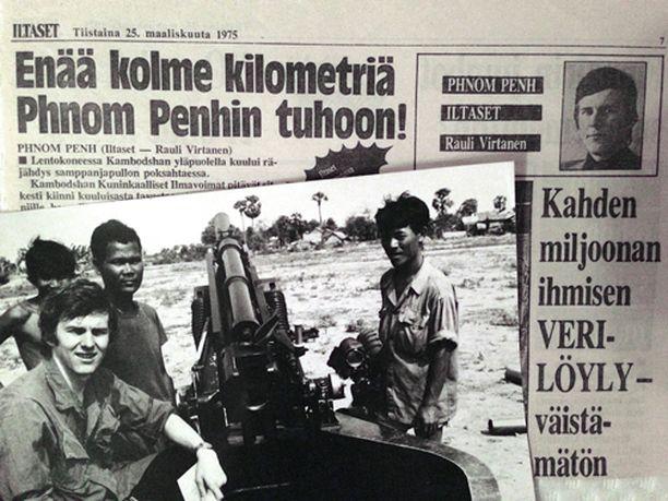 """Rauli Virtanen kauhistelee nykyisin kirjoittamansa Kambozha-juttua. """"Tyypillinen iltapäivälehden sensaatio-otsikko, Virtanen kirjoittaa."""