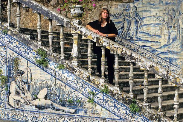 Azulejo-laattoja käytetään Portugalissa paljon. Ne ovat myös varkaiden suosiossa.