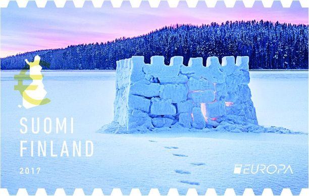 Kilpailun teemana oli linna. Suomen merkissä esiintyy lumilinna, mitä raati arvosti omaperäisenä ideana.