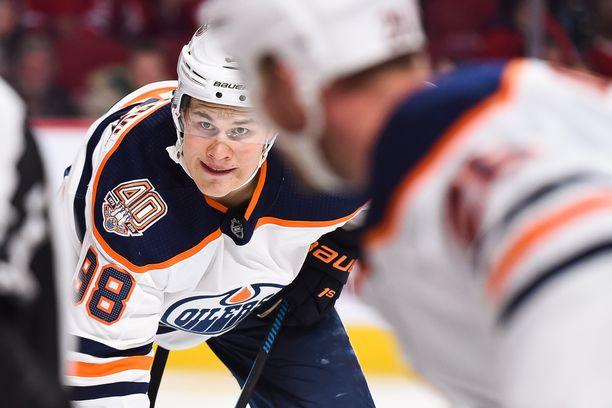 Jesse Puljujärvi ei ole onnistunut nousemaan Edmonton Oilersin tähtipelaajaksi.