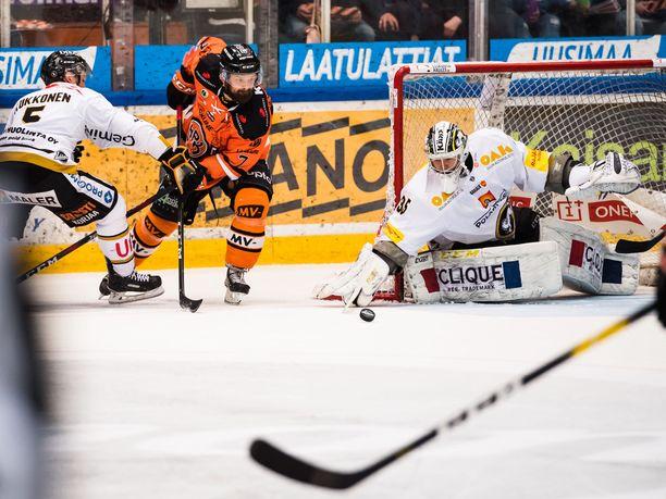 Otto Paajanen oli pelipäällä kuudennessa finaalissa.