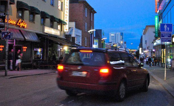 Jyväskylän kadut vilkastuvat rallin aikaan, mutta näkyvää prostituutiota ei esiinny.