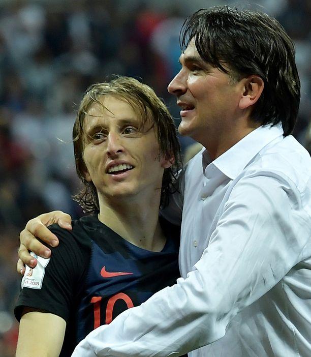 Zlatko Dalic on saanut pelaajistaan, kuten kapteeni Luka Modricista, parhaan irti.