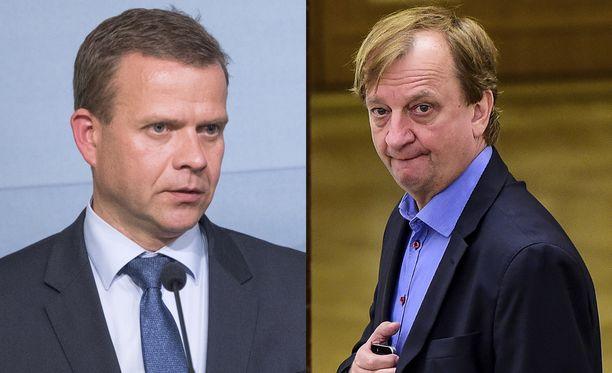 Aiemmin päivällä Petteri Orpo tviittasi pitävänsä Harkimon eropäätöstä huonona ratkaisuna.