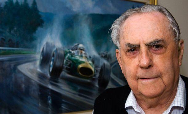 Kuva Brabhamin kotoa Australiasta vuodelta 2009. Formulatähti kuoli varhain maanantaiaamuna Australiassa.