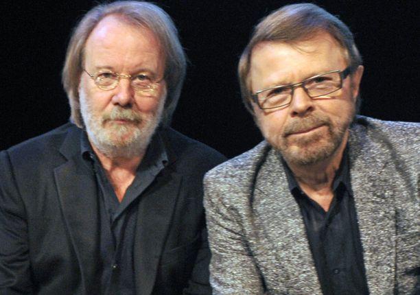 Benny ja Björn kävivät musikaalin tiimoilta Suomessa viime vuonnakin.