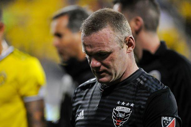 Wayne Rooney siirtyi Valioliigasta MLS:ään vuonna 2018.