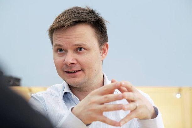 Toimitusjohtaja Janne-Olli Järvenpää on eri linjoilla kuin verottaja.