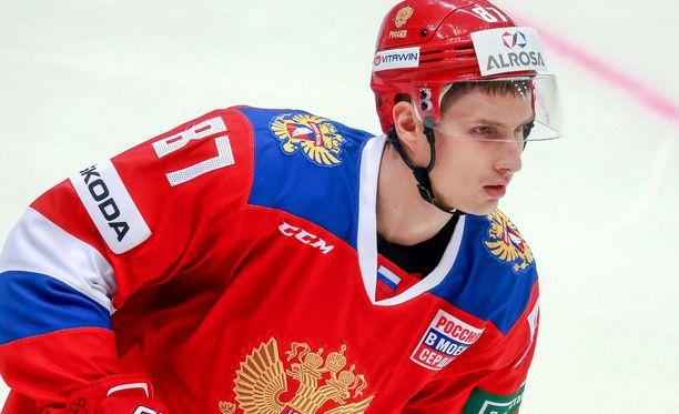 Vadim Shipatshov, 31, oli Pyeongchangissa voittamassa olympiakultaa venäläisille.