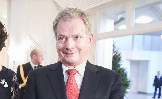 Presidentti Sauli Niinistö toipuu lonkkaleikkauksesta.