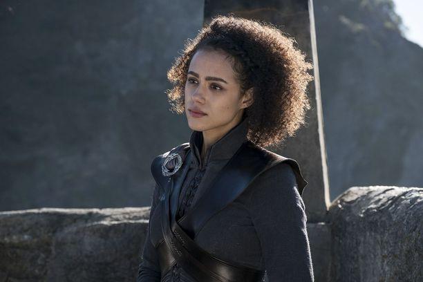 Nathalie Emmanuel Game Of Thronesin seitsemännellä kaudella.
