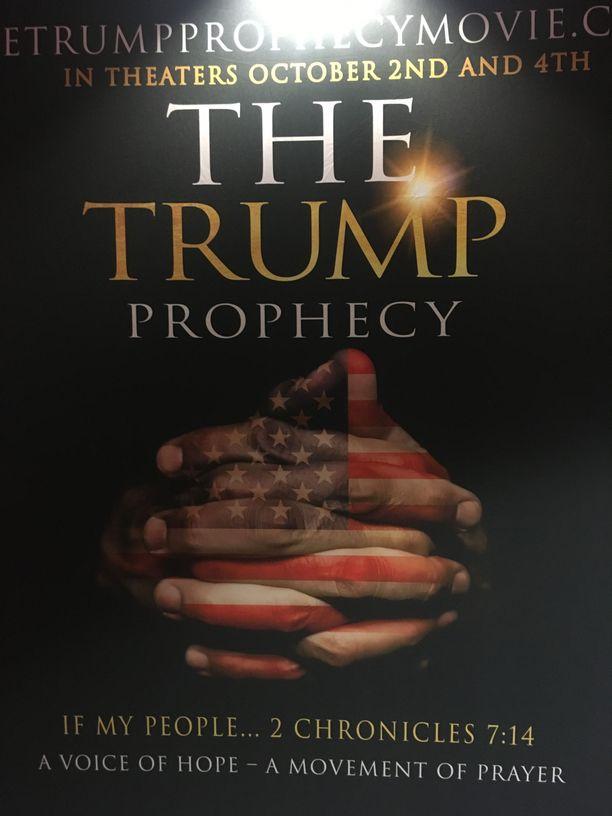 Parin viikon kuluttua julkaistaan elokuva , joka kertoo muun muassa miehestä, joka kuuli Jumalan puhuvan hänelle jo vuonna 2011 Trumpista seuraavana presidenttinä.