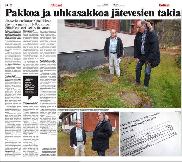 Iltalehti uutisoi Kari Wahlmanin tapauksesta ensimmäisen kerran viime vuoden marraskuussa.