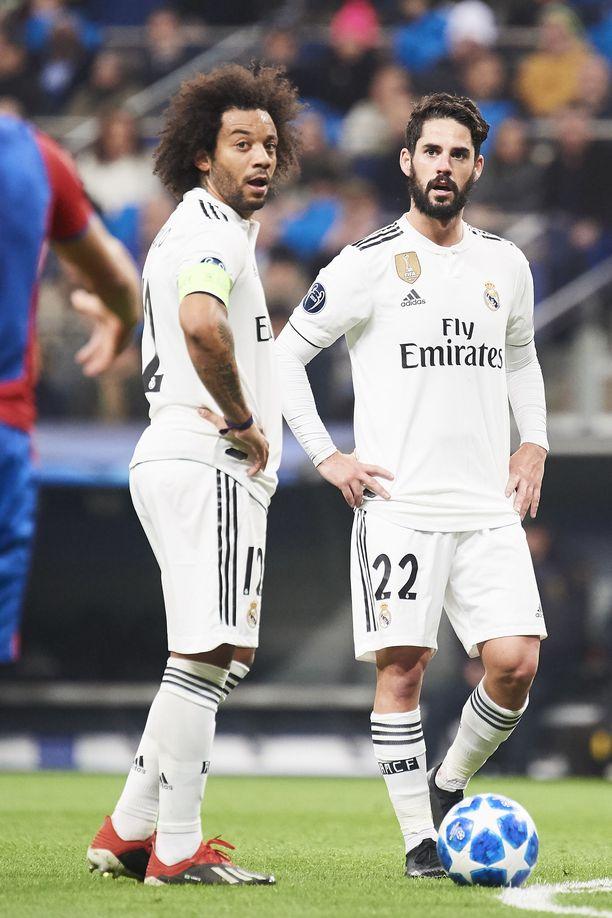 Marcelo tarjoama kapteeninnauha ei kelvannut Iscolle.