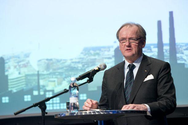 Antti Herlin halusi Ylen mukaan keskustella tietovuodosta presidentti Niinistön kanssa. Arkistokuva.