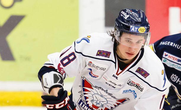Jakob Lilja pelaa nykyään Linköpingissä.