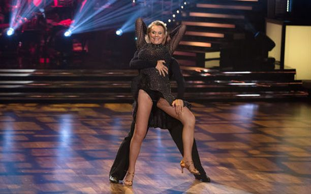 Saijonmaa osallistui LetŽs Dance -ohjelmaan lähes kymmenen vuotta sitten.