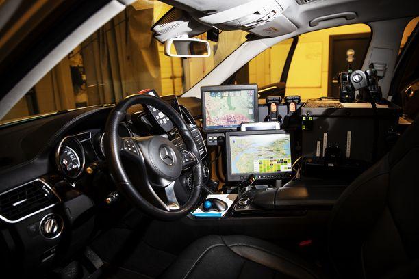 Hätäkeskustietojärjestelmä Erican käyttöönotto aloitettiin viime syksynä. Kuvassa ensihoidon kenttäjohtajan auto.