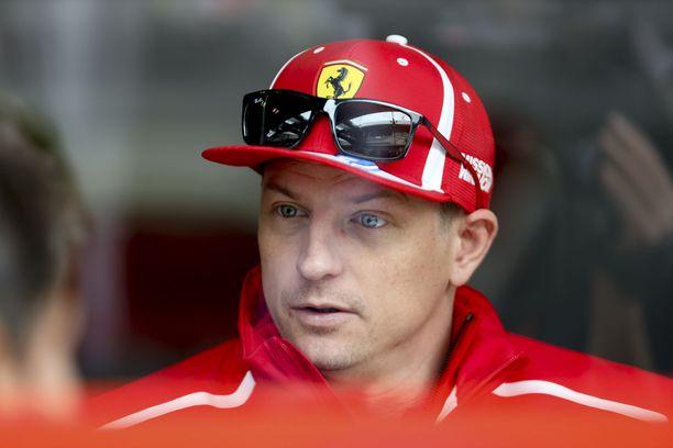 Ferrarin jättävä Kimi Räikkönen pääsee talliin, jonka kehityskäyrä näyttää jyrkästi ylöspäin.