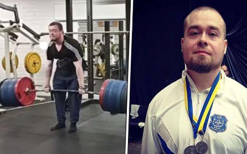 Uskomaton tulos! Tuomas Hautala nosti maastavedossa 400 kiloa – olisi ollut maailmanennätys