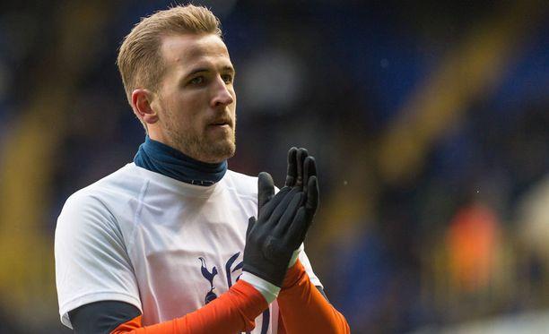 Harry Kanen edustama Tottenham on Valioliigassa kolmantena.