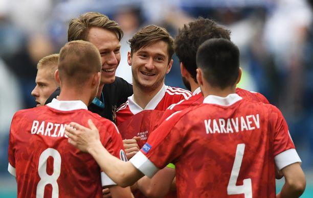 Venäjä nousi Suomen rinnalle kolmeen pisteeseen.
