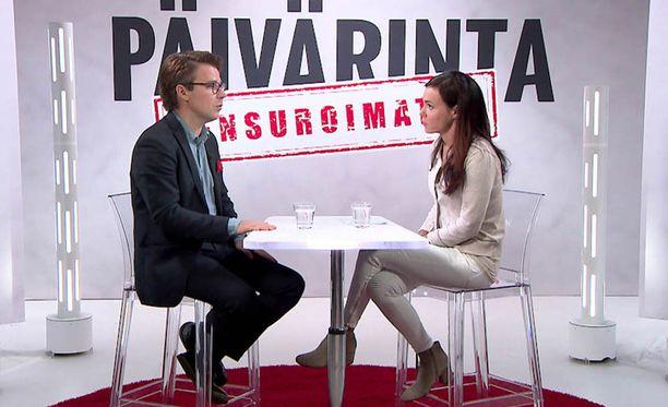 Ville Niinistö kehui ex-vaimoaan Susanne Päivärinnalle.