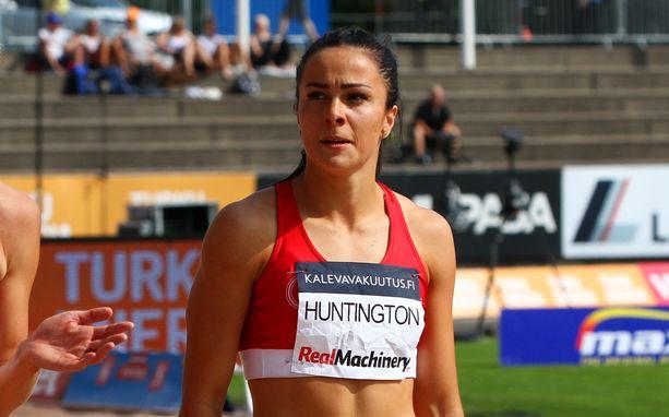 Maria Huntington nousi 7-ottelun kärkipaikalle lauantain päätteeksi.