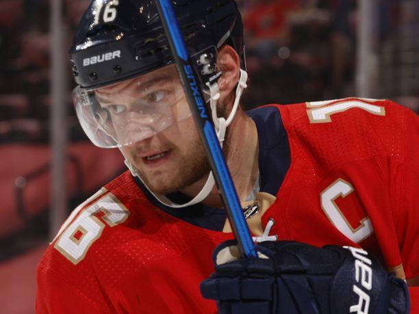 Aleksander Barkov on yksi NHL:n parhaista pelaajista.