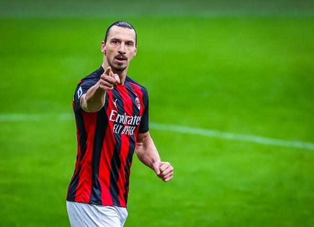 Zlatan Ibrahimovic, 39, pelaa edelleen huipputasolla.
