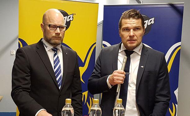 Risto Dufva sanoi, että Jukurit on liigapaikan arvoinen. Tomek Valtosen luotsaama Sport haki Mikkelistä voiton kauden avausottelussa.