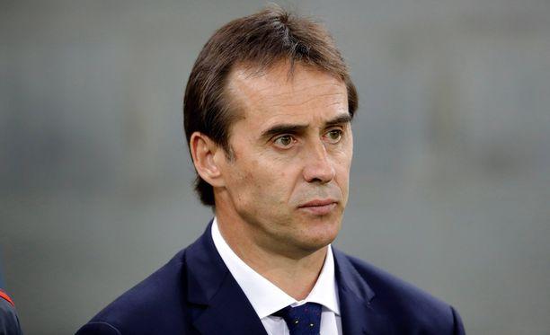 Julen Lopetegui on espanjalaisseura Real Madridin uusi päävalmentaja.