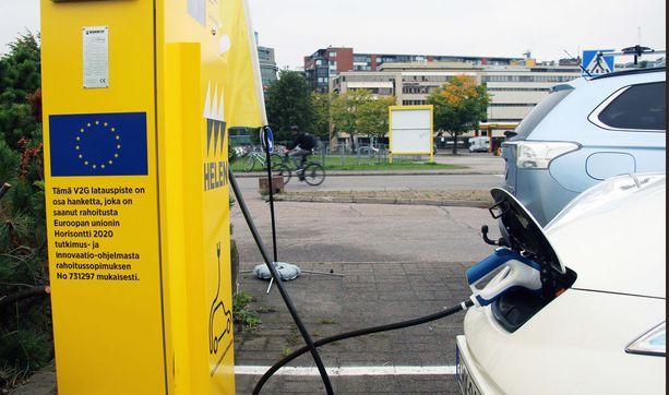 Hanke on osa EU:n tutkimusta myös sähköverkkojen uudistumisesta.