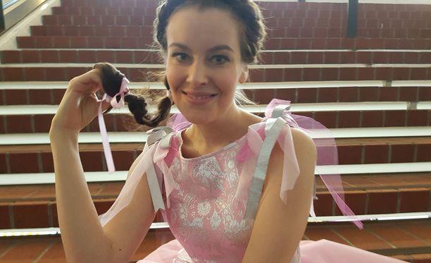 Katariina Havukainen sai pääroolin Adalmiinan helmi -näytelmässä.