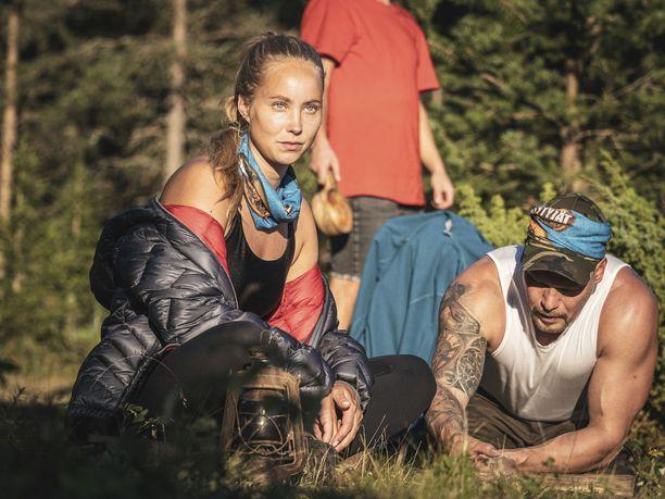 Selviytyjät Suomi -osallistujat saavat nauttia vaihtelevasta säästä.