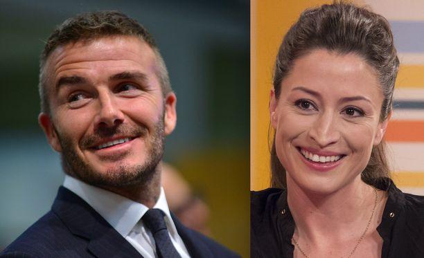 David Beckhamin ja Rebecca Loosin väitetty salasuhde oli vuoden 2004 kovimpia viihdeuutispommeja.