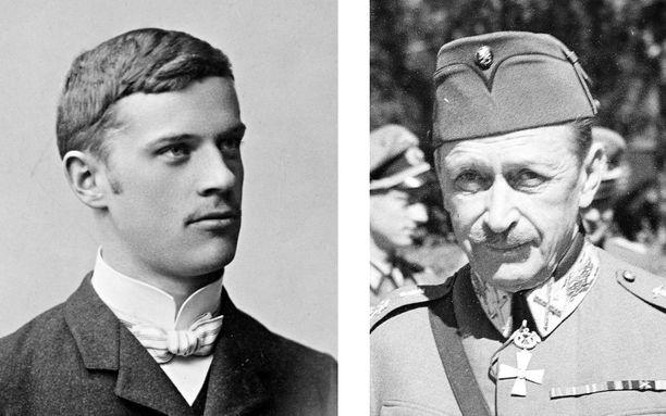 Sosialisti Edvard Gylling suunnitteli punaista Suur-Suomea, kun taas sotamarsalkka Gustaf Mannerheim johdatti Suomen armeijan valloittamaan Itä-Karjalaa.