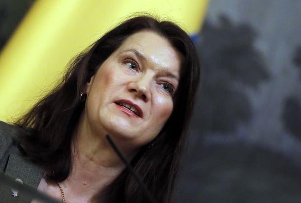 Ruotsin ulkoministeri Ann Linde.