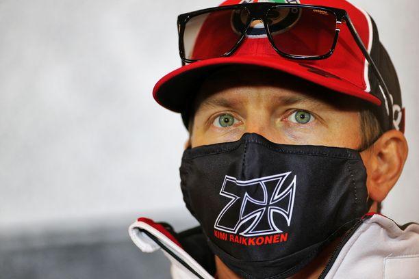Kimi Räikkönen oli lehdistön tentattavana torstaina.