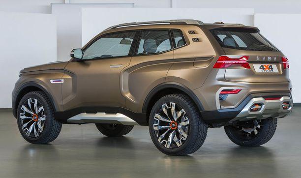 Takaapäin muodoissa on aavistus Nissania ja ehkä myös Daciaa.