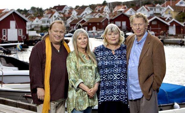 Saltön tapahtumat sijoittuvat Ruotsin länsirannikolle.