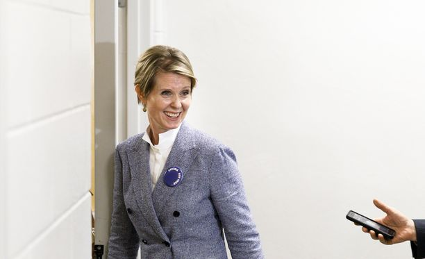 Näyttelijänurastaan tunnettu Cynthia Nixon pyrkii parhaillaan New Yorkin kuvernööriksi.