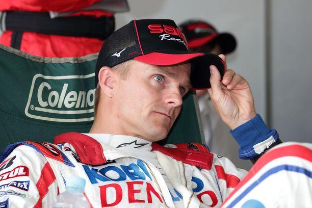 Heikki Kovalainen menetti mahdollisuuden testata Toyotaansa.