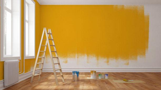 Testaa maalisävy ennen kuin ryhdyt tositoimiin.