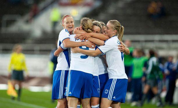 Suomalaisten naispelaajien seuraava tavoite on yltää vuoden 2017 kesän EM-lopputurnaukseen.