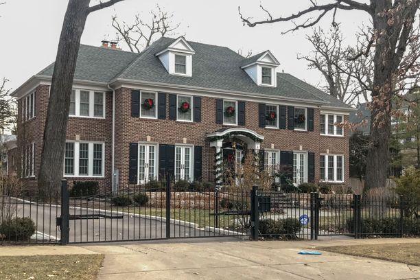 Yksin kotona -kuvauksissa käytetty talo sijaitsee Chicagossa.