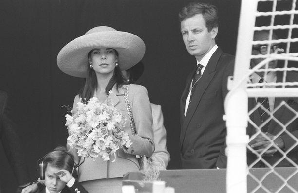 Prinsessa Caroline ja Stefano Casiraghi olivat komea pari.