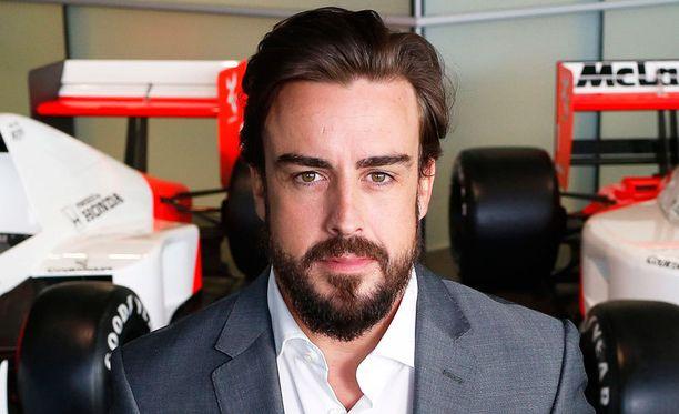 Fernando Alonso kaatoi paineita Ferrarin niskaan.