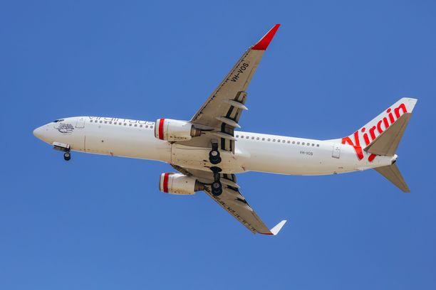Virgin Australian lento oli ilmassa, kun uudet koronasäännöt tulivat voimaan.